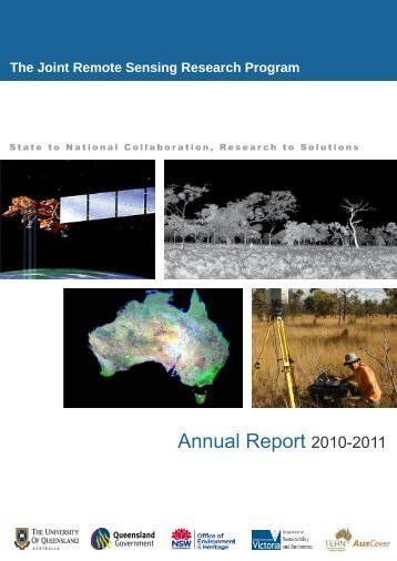 Annual Report 2010-2011 - School of Geography, Planning and ...