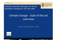 Climate Change Adaptation in Context