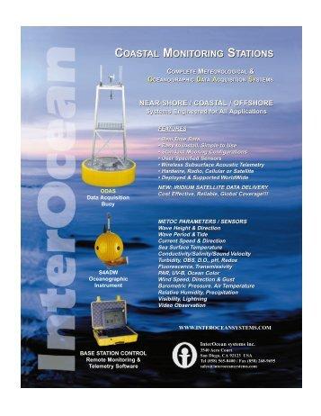 Coastal Monitoring Systems Brochure - InterOcean Systems Inc.