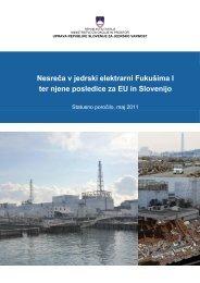 Nesreča v jedrski elektrarni Fukušima I ter njene posledice za EU in ...