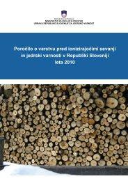 Letno poročilo o varstvu pred ionizirajočimi sevanji in jedrski ...