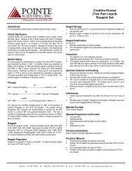Creatine Kinase - BioPacific Diagnostic Inc.