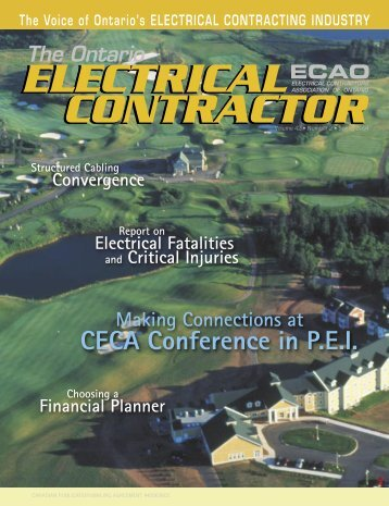 CECA Conference in PEI - Electrical Contractors Association of ...