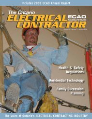 Regulations Residential Technology - Electrical Contractors ...