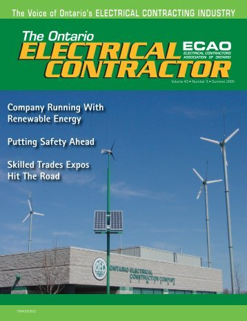 Company Running With Renewable Energy - Electrical Contractors ...