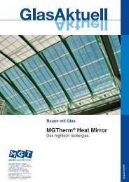 MGTherm® Heat Mirror Isolierglas