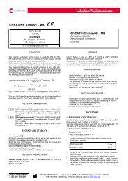 creatine kinase - LINEAR CHEMICALS