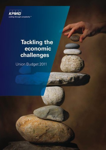 Tackling the economic challenges Budget 2011 - KPMG