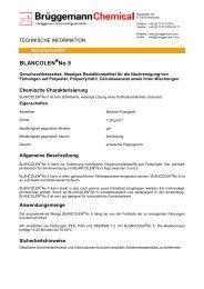 BLANCOLEN No 5 - L. Brüggemann KG