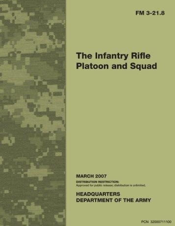 Infantry Rifle Platoon and Squad - Sakai
