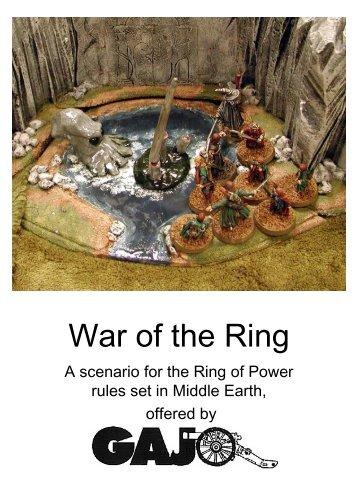 Ring of Power - GAJO Main Page