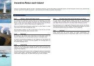 Incentive-Reise nach Island