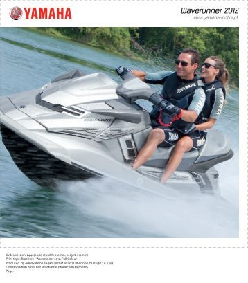 Waverunner 2012 - Yamaha Motor Europe