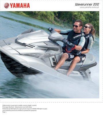 Waverunner 2012 - Yamaha Motor Europe