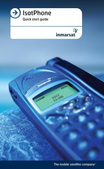 IsatPhone - Indigo Telecom