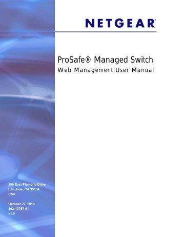 ProSafe® Gigabit L3 Managed Stackable Switches ... - Netgear