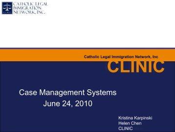 Case Management System Powerpoint Slides from Webinar