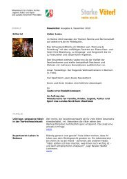 Newsletter Ausgabe 4, Dezember 2010 Editorial Lieber Leser, im ...