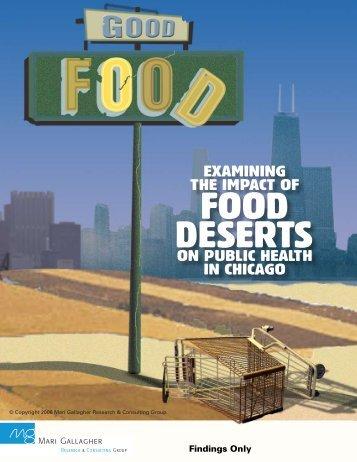 Examining the Impact of Food Deserts - Mari Gallagher