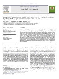 Composition optimization of arc ion plated CrNx films on 316L ...