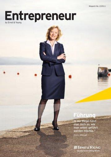 Entrepreneur - Home - Ernst & Young  - Schweiz