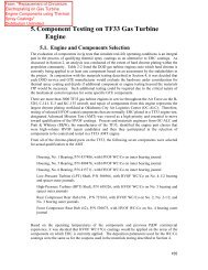 TF33 Rig Test from HVOF on GTE Components Final Report
