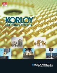 Turning Inserts - korloy