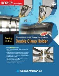 Double Clamp Holder - Korloy.com