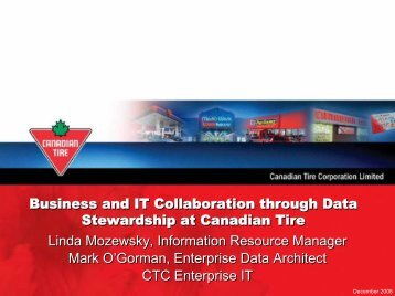 Business and IT Collaboration through Data Stewardship at ...
