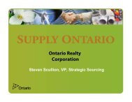 Ontario Realty Corporation