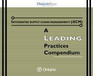 A Leading Practices Compendium (PDF) - Supply Chain Management