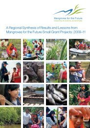 A Regional Synthesis of Results and Lessons from Mangroves for ...