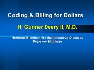 Coding & Billing for Dollars - Infectious Diseases Society of America