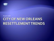 New Orleans Energy Usage Baseline Results - Entergy New ...