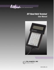 SIT Hand Held Terminal - You are now at the Down-Load Site for Tol ...