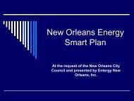 New Orleans Energy Smart - Entergy New Orleans, Inc.