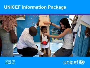 UNICEF Information Package - RC Online