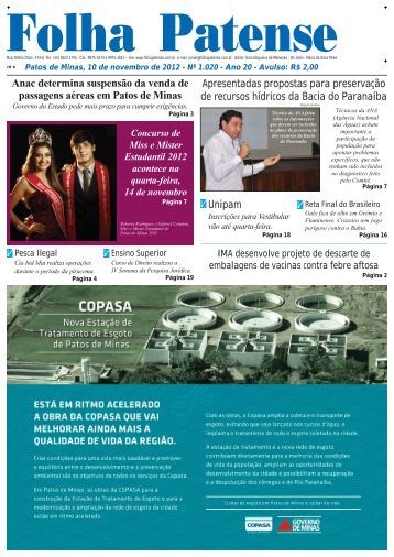 nº 1020 - Folha Patense