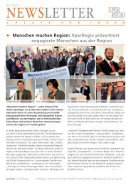 NEWSLETTER - XperRegio