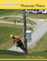 2011 Annual Report - Mecklenburg Electric Cooperative