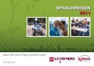 SPRACHREISEN 2011 - Xplore