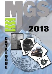 Catalogue 2013 Design2.0.pub - MGS Europe GmbH