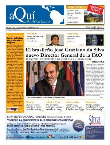 El brasileño José Graziano da Silva nuevo Director General de la FAO