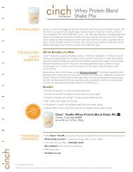 Whey Protein Blend Shake Mix - Shaklee