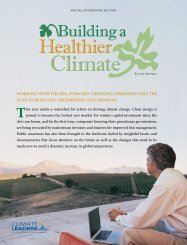 WORKING WITH THE EPA, FORWARD-THINKING ... - Shaklee