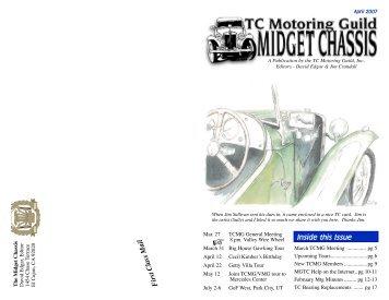 April Midget Chassis - TC Motoring Guild