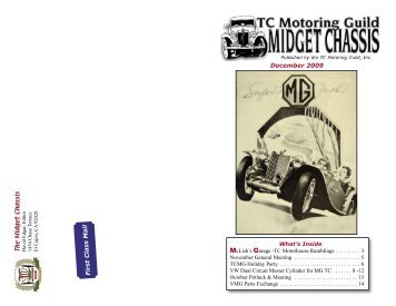 December Midget Chassis - TC Motoring Guild
