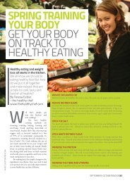 35,36,38 Spring Train your Eating 127.indd - The Healthy Chef