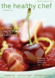 Healthy chef magazine Dec 2010 - The Healthy Chef
