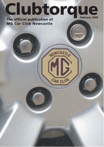 Feb 2009 - MG Car Club Newcastle